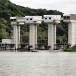 屈足ダム水門