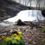 屏風岩の滝